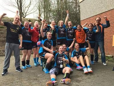 Knappe Niederlage im Saisonauftakt der Damen BL – TG Voerde I – Sauerland Wölfe IV 16:18 (8:10)