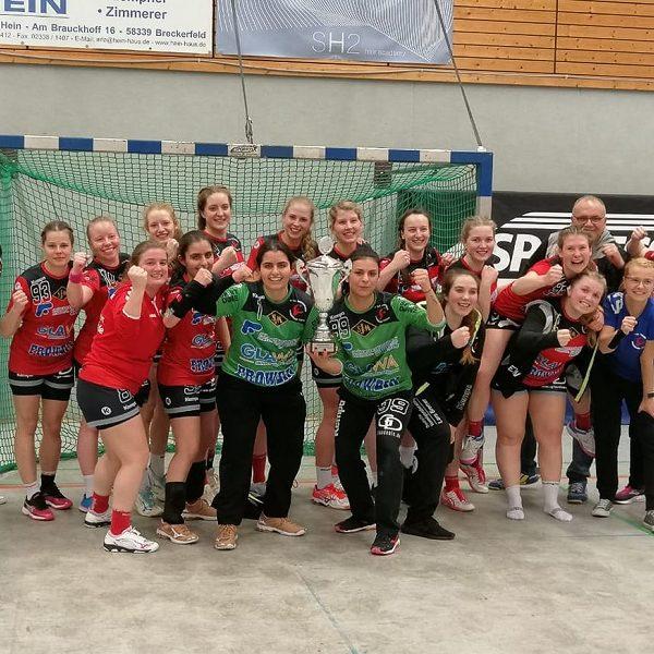 Damen gewinnen den Kreispokal!