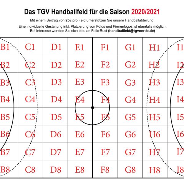 Voerder Handballfeld gestartet